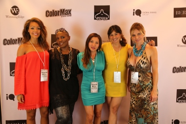 The ladies of HautOC and founder of Top Job PR.