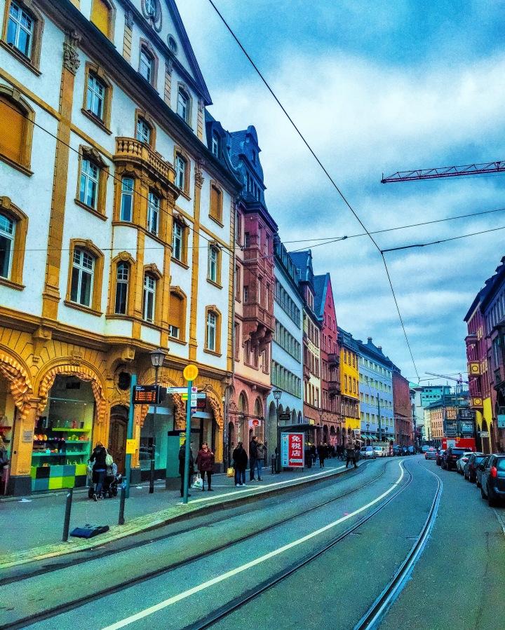 Frankfurt, Deutschland!