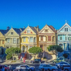 The Painted Ladies- San Fransisco