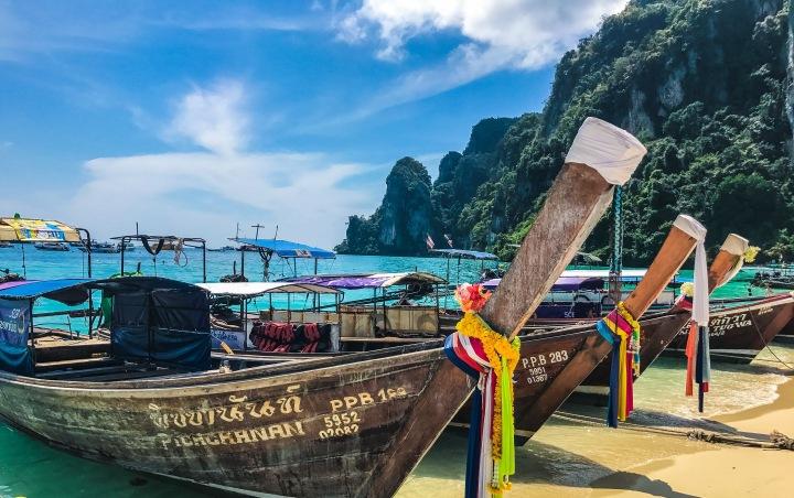 Phuket, Krabi, Phi Phi, and Bangkok,Thailand